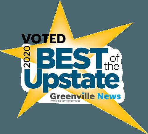 Voted Best Upstate Greenville SC
